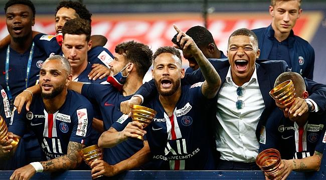 PSG, Lig Kupası'nı kazandı ve üçleme yaptı!