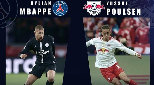 RB Leipzig - Paris SG maçının kilit ikilisi