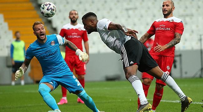 Beşiktaş, Antalya engeline 85'te takıldı