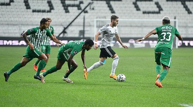 Beşiktaş, Avrupa'ya penaltılarda veda etti