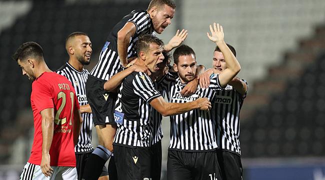 Beşiktaş'ı eleyen PAOK, Benfica'yı da geçti