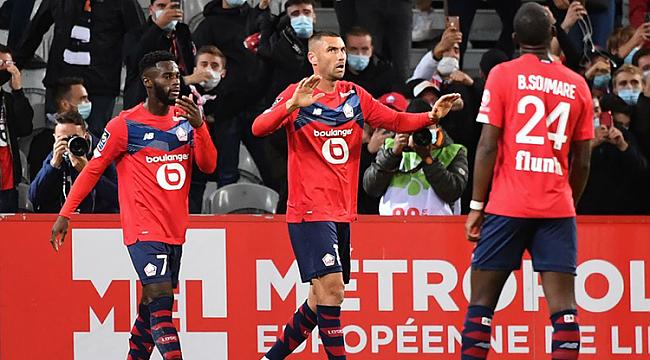 Burak Yılmaz, Ligue 1'de siftah yaptı