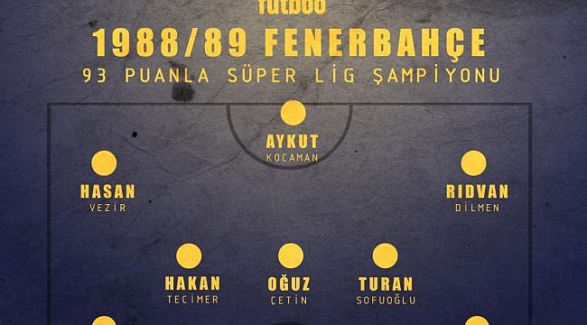 Fenerbahçe'nin efsane kadrosu (1988/89)
