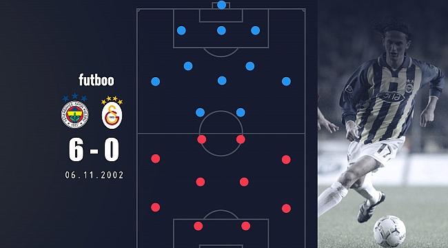 Fenerbahçe'nin derbide 6-0 kazanan 11'i