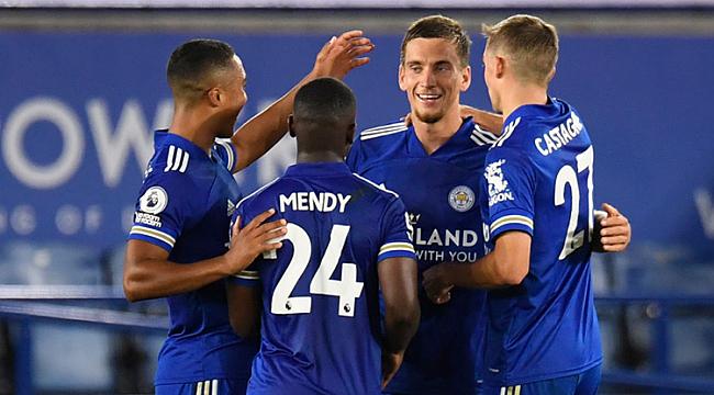 Leicester City evinde hata yapmadı! 6 gol...