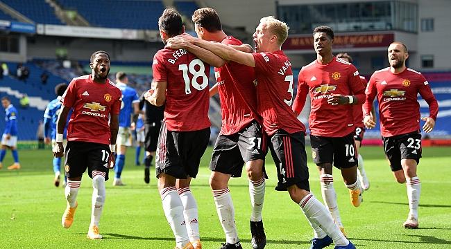Maç berabere bitti, Manchester United kazandı!