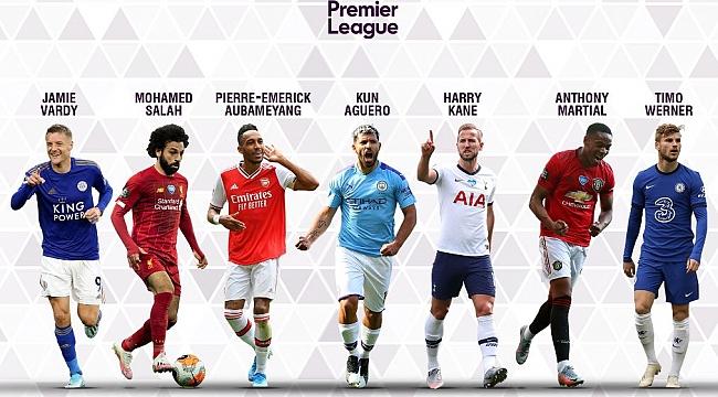 Premier League'de gol kralı adayları