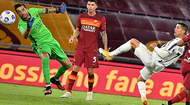 Roma kaçtı, Juventus yakaladı: 4 gol