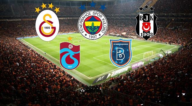 Süper Lig şampiyonluk adayları!