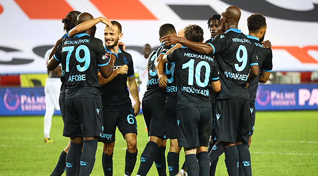 Trabzonspor siftahı 3 golle yaptı