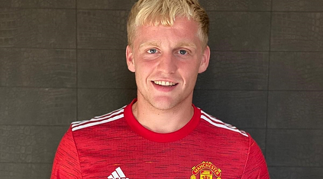 Van de Beek resmen Manchester United'da!