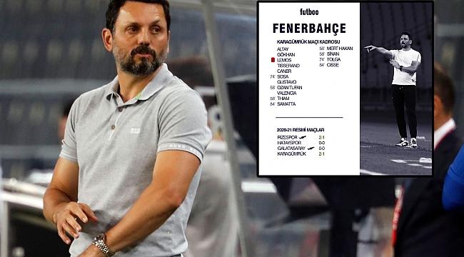 ANALİZ | İlk 4 haftada Fenerbahçe