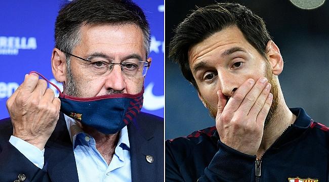Barcelona'da istifa! Kazanan Messi