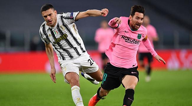 Barcelona, Juventus'u 2 golle geçti