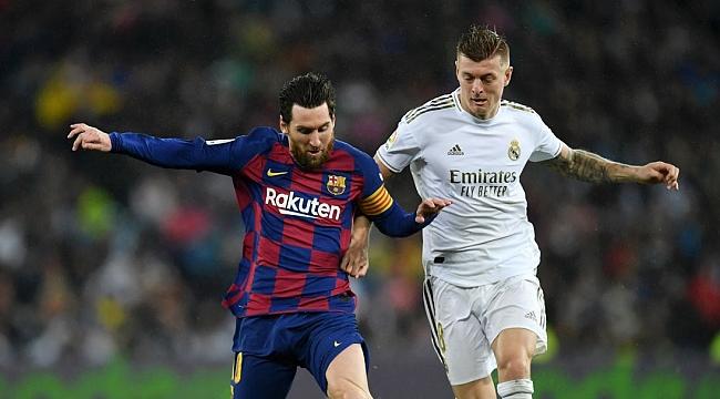Barcelona - R. Madrid muhtemel 11'ler