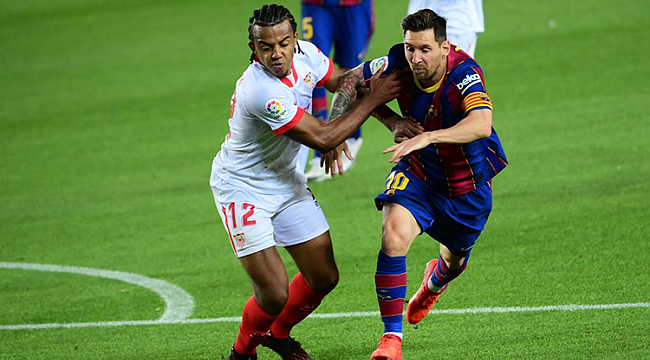 Barcelona'ya ilk çelme Sevilla'dan geldi!