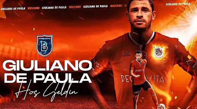 Başakşehir, Giuliano transferini resmen açıkladı!