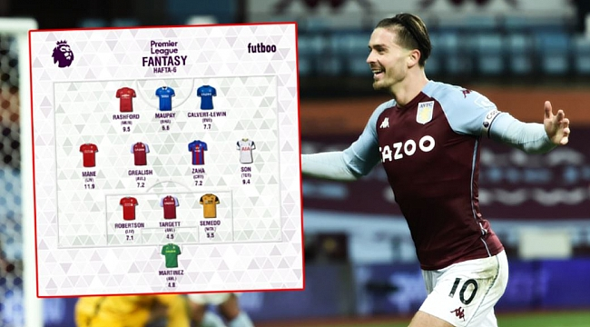 Fantasy Premier League'de 6. hafta kadrosu