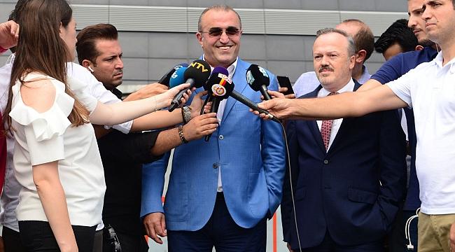 Galatasaray'da istifadan dönüldü