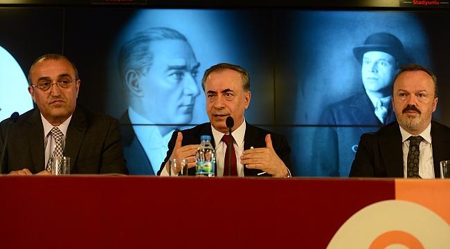 Galatasaray'da 'seçim' açıklaması