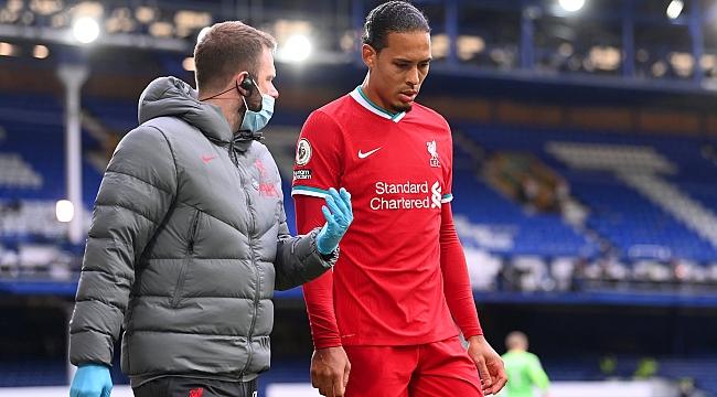Liverpool'da Van Dijk şoku yaşanıyor