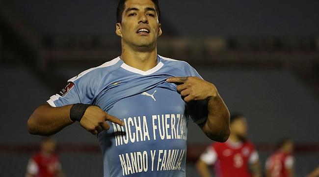 Luis Suarez, Muslera'yı unutmadı