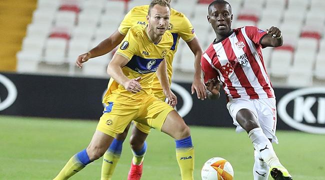 Sivasspor geri dönüşe engel olamadı