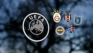 UEFA sıralamasında yine geriye düştük! Son durum