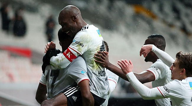 Atiba şov yaptı, Beşiktaş 3 golle güldü