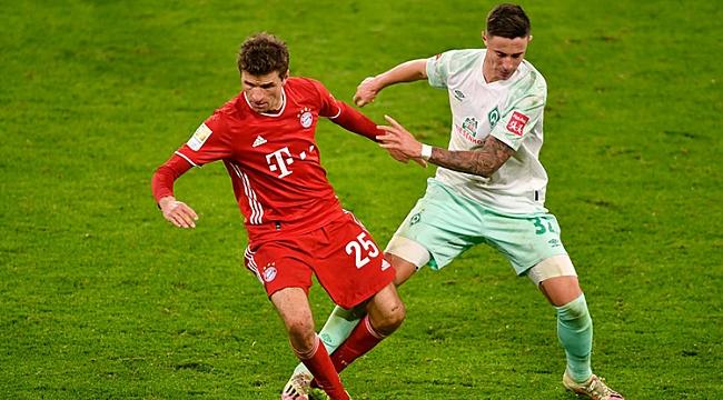 Bayern Münih, Bremen engeline takıldı! 2 gol...