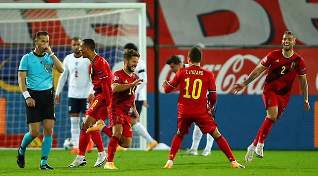 Belçika, İngiltere'nin fişini 24 dakikada çekti