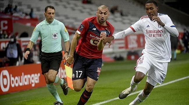 Burak Yılmaz'ın asisti Lille'e yetmedi
