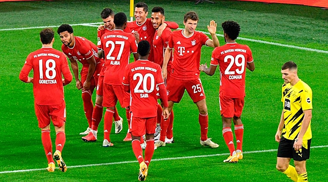 Der Klassiker'de gülen Bayern Münih!