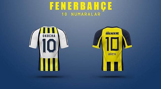 Fenerbahçe'nin en iyi '10' numaraları