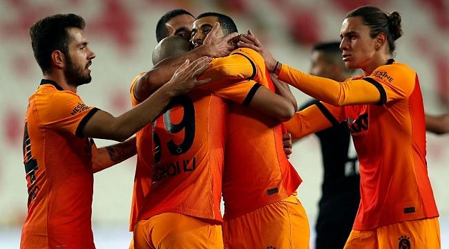 Galatasaray - Kayserispor muhtemel 11'ler