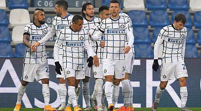 Inter 8 maçlık seriyi tam 3 golle sonlandırdı!