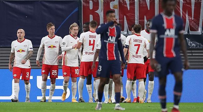 Leipzig yendi, grupta işler karıştı!