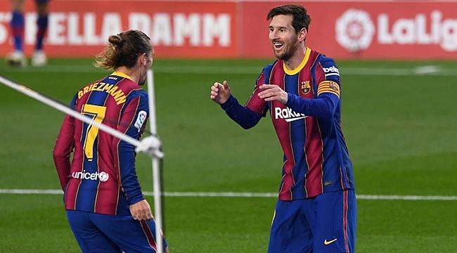 Lionel Messi ikinci devreye fişi çekti