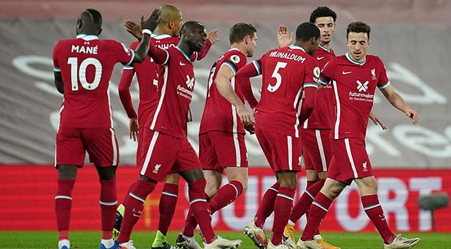 Liverpool adım adım zirveye!