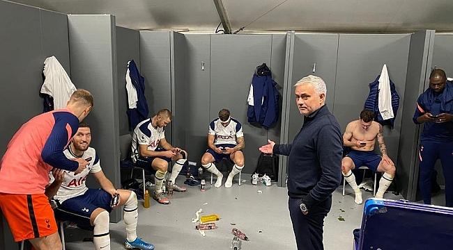 Mourinho bu fotoğrafı anlattı!