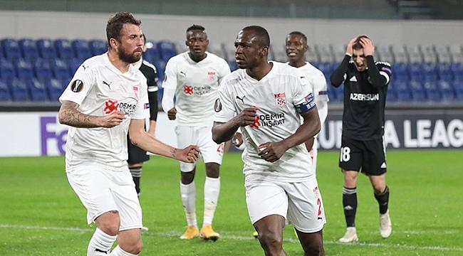 Sivasspor pes etmedi, 3 golle geri döndü