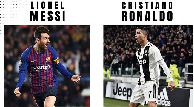 2020 yılında Messi VS Ronaldo