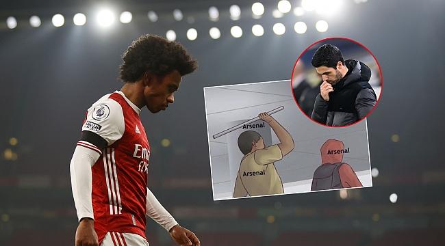 Arsenal'e neler oldu böyle?