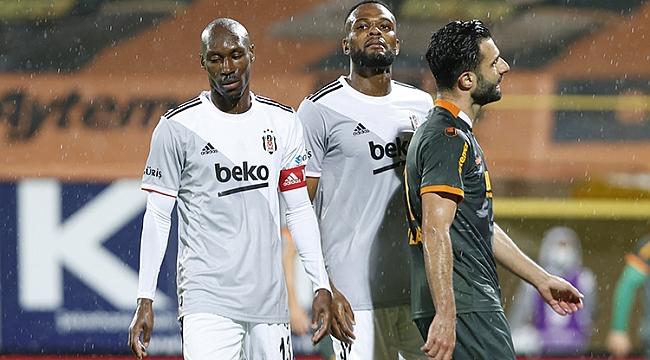 Beşiktaş'ın serisi bitti, zirve değişmedi