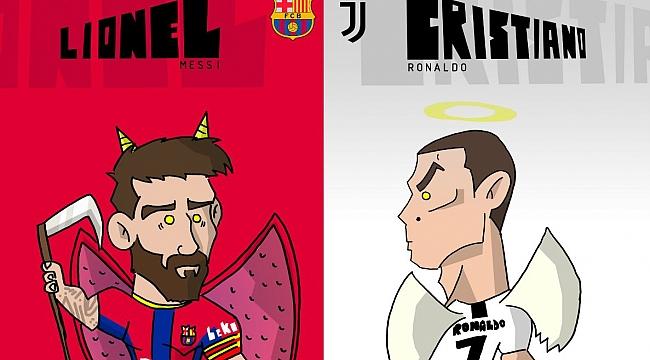 Beklenen kapışma: Ronaldo ve Messi