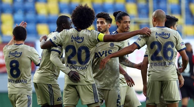 Gaziantep FK - Fenerbahçe muhtemel 11'ler