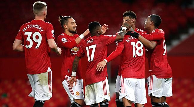 Manchester United fırtınası: 8 gol