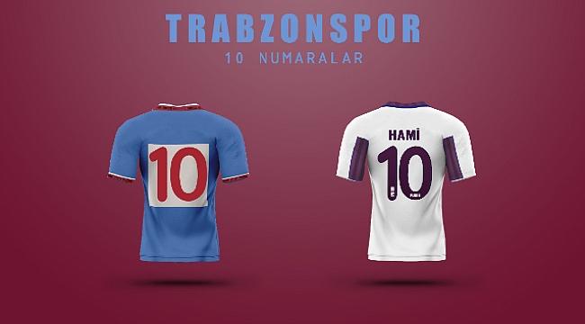 Trabzonspor'un '10' numaraları