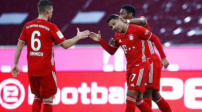 Bayern Münih zirvede çok rahat! 5 gol...