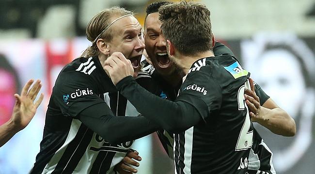 Beşiktaş 2 golle geri döndü
